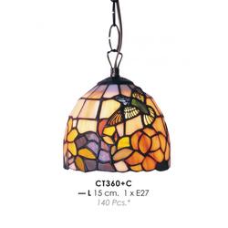 Tiffany Deckenleuchte Durchmesser 15cm CT360 + C Leuchte Lampe