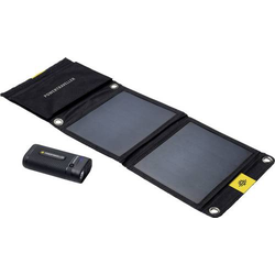Power Traveller Powerbank Sport 25 Solar Kit PTL-SPK025 Solar-Ladegerät Ladestrom Solarzelle 1400mA