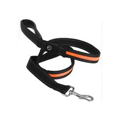 HTI-Living Hundeleine Hundeleine leuchtend Hundeleine leuchtend, Nylon orange