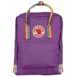 Fjällräven Kanken Rainbow Mini purple/rainbow pattern