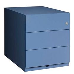 BISLEY Note Rollcontainer blau 3 Auszüge