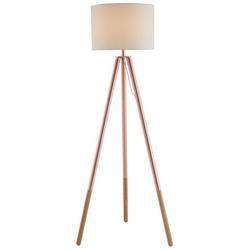 SalesFever Stehlampe Inga, Dreibeiniges Stativ, skandinavisches Design