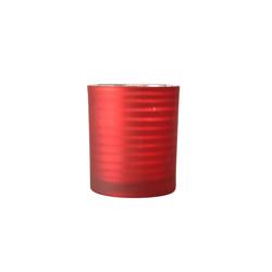 Boltze Windlicht Lola in rot, 10 cm