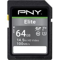 PNY SDXC Elite 64GB Class 10 UHS-I