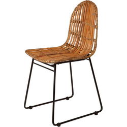 TOM TAILOR Rattanstuhl T-RATTAN CHAIR