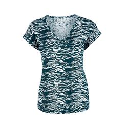 Ausbrenner-Shirt Damen Größe: XS