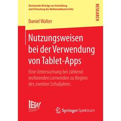 Nutzungsweisen bei der Verwendung von Tablet-Apps als Buch von Daniel Walter