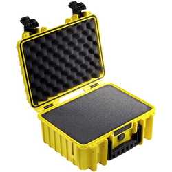 B & W Outdoor Koffer outdoor.cases Typ 3000 32.6l (B x H x T) 365 x 295 x 170mm Gelb 3000/Y/SI