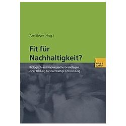 Fit für Nachhaltigkeit? - Buch