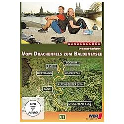 Vom Drachenfels zum Baldeneysee - Die NRW-Radtour  1 DWD - DVD  Filme