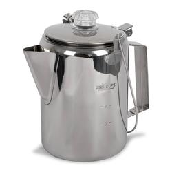 Mil-Tec Kaffeekanne Steel mit Perkolator