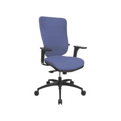 TOPSTAR Schreibtischstuhl Soft Pro 100 mit Bandscheibensitz blau