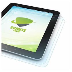 Wigento Tablet-Hülle 2x HD LCD Displayschutz für Apple iPad Air 2020 4. Gen 10.9 Zoll Schutz Folie + Poliertuch
