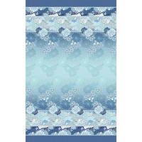 BASSETTI Gesteppte Tagesdecke Madama Butterfly blau-B1, 265x255 cm, 9311002