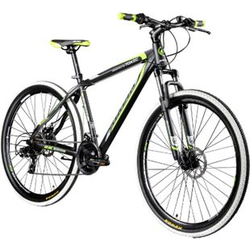 Galano Toxic 29 Zoll Mountainbike Hardtail MTB Fahrrad Scheibenbremsen Shimano Tourney... schwarz/grün