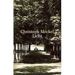 Licht. Christoph Meckel  - Buch