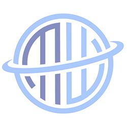K&M 15715 Trompetenhalter schwarz, anschraubbar