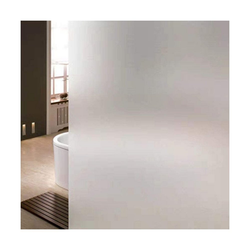 kueatily Aufkleber Fensterfolie selbstklebende undurchsichtige Sichtschutzfolie Fensterfolie Anti-UV-Mattglasfolie für Zuhause, Badezimmer oder Büro, (4tlg)