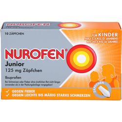 NUROFEN Junior 125 mg Zäpfchen 10 St.