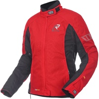 Rukka Start-R Damen Motorrad Textiljacke, rot, Größe 44