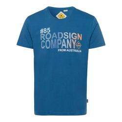 ROADSIGN australia T-Shirt Roadsign Company blau M (48/50)