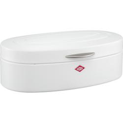 Wesco Elly Brotkasten, für die Aufbewahrung von Brot, Brötchen, Gebäck oder Kuchen, Farbe: weiß matt