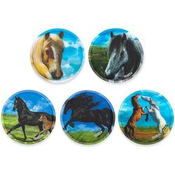 ergobag Schulranzen Klettie-Set 5er Pferde