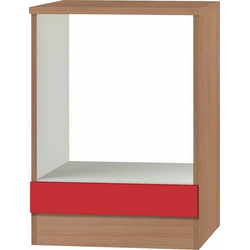 OPTIFIT Herdumbauschrank Odense 60 cm breit rot