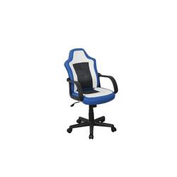 HTI-Line Drehstuhl Chefsessel Donington blau