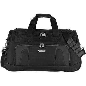 Travelite Reisetasche 58 cm mit Schultergurt, Gepäck Serie ORLANDO: Klassische Weichgepäck Reisetasche im zeitlosen Design, 098486-01, 50 Liter, 0,9 kg, schwarz
