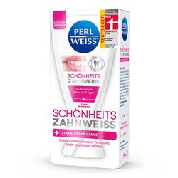 Perl Weiss Schönheits-Zahnweiss Strahlender Glanz und Zahnschonend 50ml 3er Pack