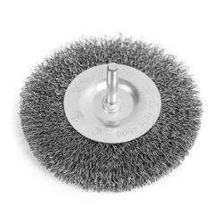 Scheibenbürste Bürstenaufsatz ø 100 mm Stahl Rundbürste Drahtbürste Topfbürste - Stahl Rundbürste ø 100 mm