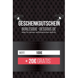 100  Gutschein per Post