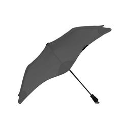 Blunt Taschenregenschirm Metro, Regenschirm, Taschenschirm, für Auto und unterwegs, 96cm Durchmesser grau