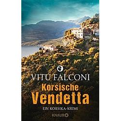 Korsische Vendetta / Korsika-Krimi Bd.3. Vitu Falconi  - Buch