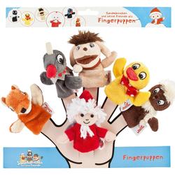 Heunec® Fingerpuppe Sandmann Fingerpuppen 6er-Set (Set, 6-tlg)