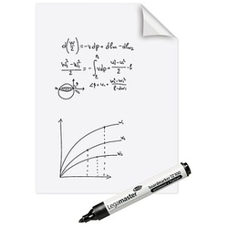 Legamaster Flipchart-Folie Magic-Chart Whiteboard blanko