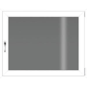 RORO Türen & Fenster Kellerfenster, BxH: 100x80 cm, ohne Griff