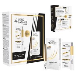 Long4Lashes Serum FX5 Power Formula Wimpernserum 3ml + Eyebrow Designer 8ml SET