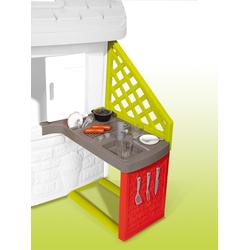 Smoby Spielhaus Zubehör Sommerküche, Made in Europe bunt Kinder Outdoor-Spielzeug