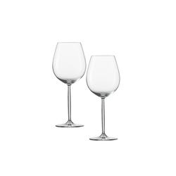 SCHOTT-ZWIESEL Rotweinglas Wasser, Rotweinglas 2er-Set Diva