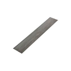 neu.haus Einlegeboden (16 Stück), Mons Vinyl Klebelaminat Dielen Bodenbelag ca. 4 m² silberfarben
