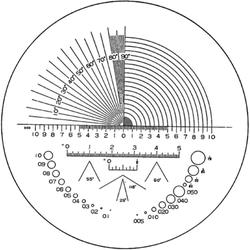Strichplatte Typ 03