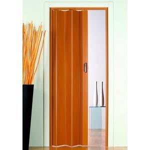 Falttür Monica, BxH: 83x204 cm, Buchefarben-Pastell ohne Fenster