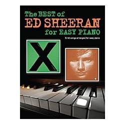 The Best Of Ed Sheeran For Easy Piano. Ed Sheeran  - Buch