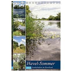 Havel-Sommer - Landschaften im Havelland (Tischkalender 2021 DIN A5 hoch)