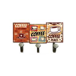 HTI-Line Garderobenhaken Garderobenhaken Coffee