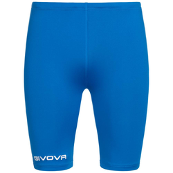 Givova Bermudy Skin Compression Tights szorty rowerowe niebieskie - S
