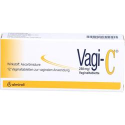 VAGI C Vaginaltabletten 12 St.
