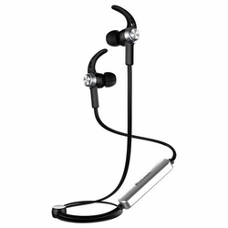 Baseus Magnet Earphone Bluetooth Headset In-Ear Ohrhörer für Android & iOS Schwarz / Silber